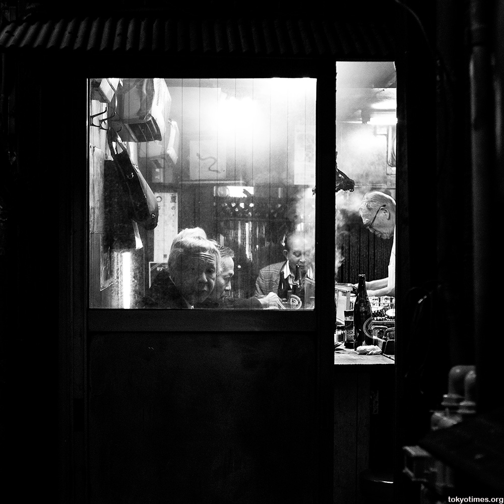 old Japanese bar in Tokyo