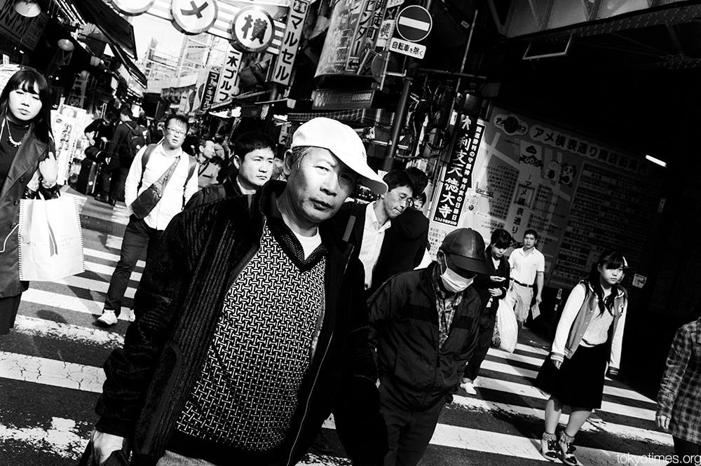 Tokyo crossing looks