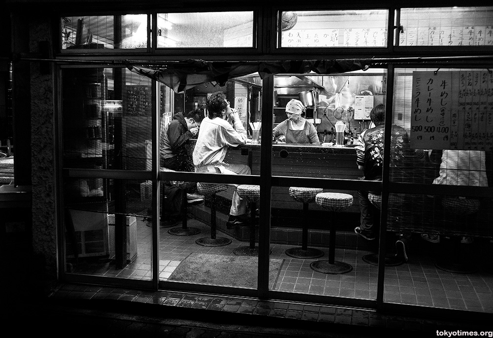 lonely Tokyo diners
