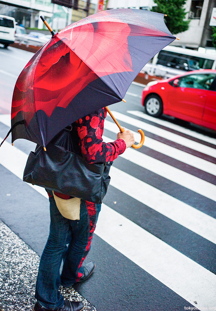 Tokyo fashion: Complete colour and pattern coordination