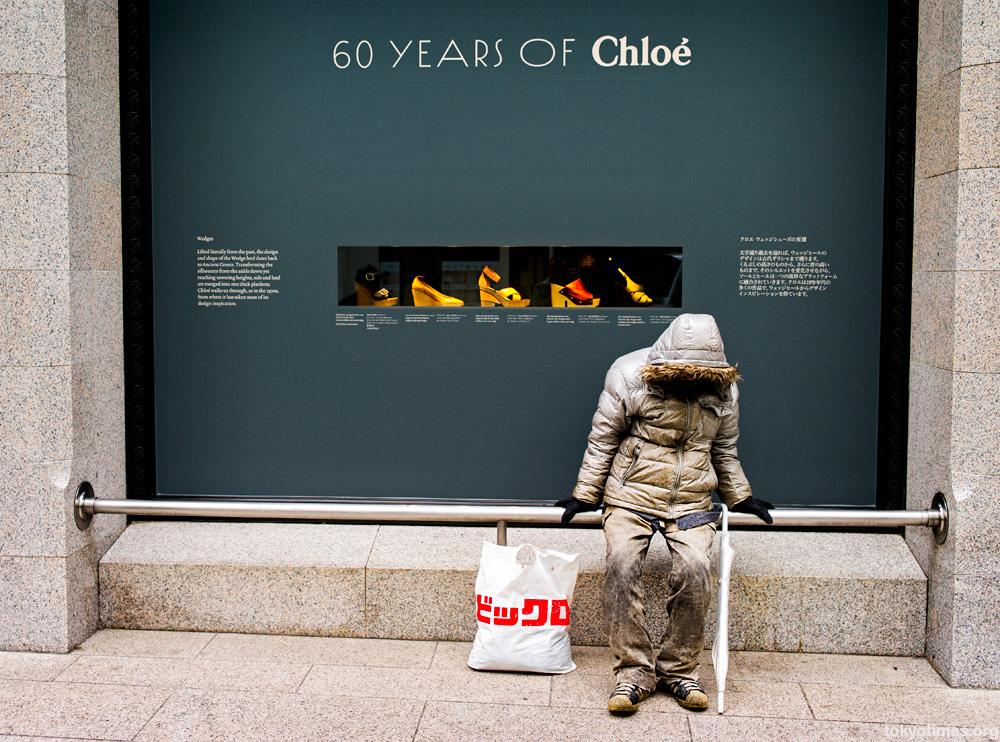 Tokyo fashion victim