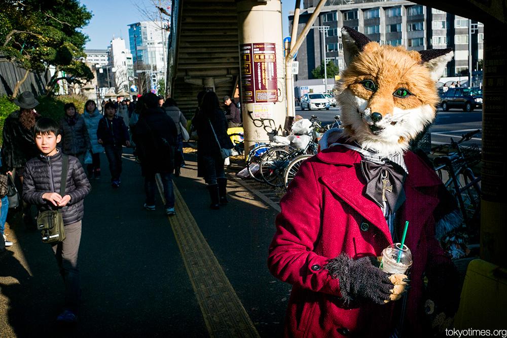 Tokyo fox