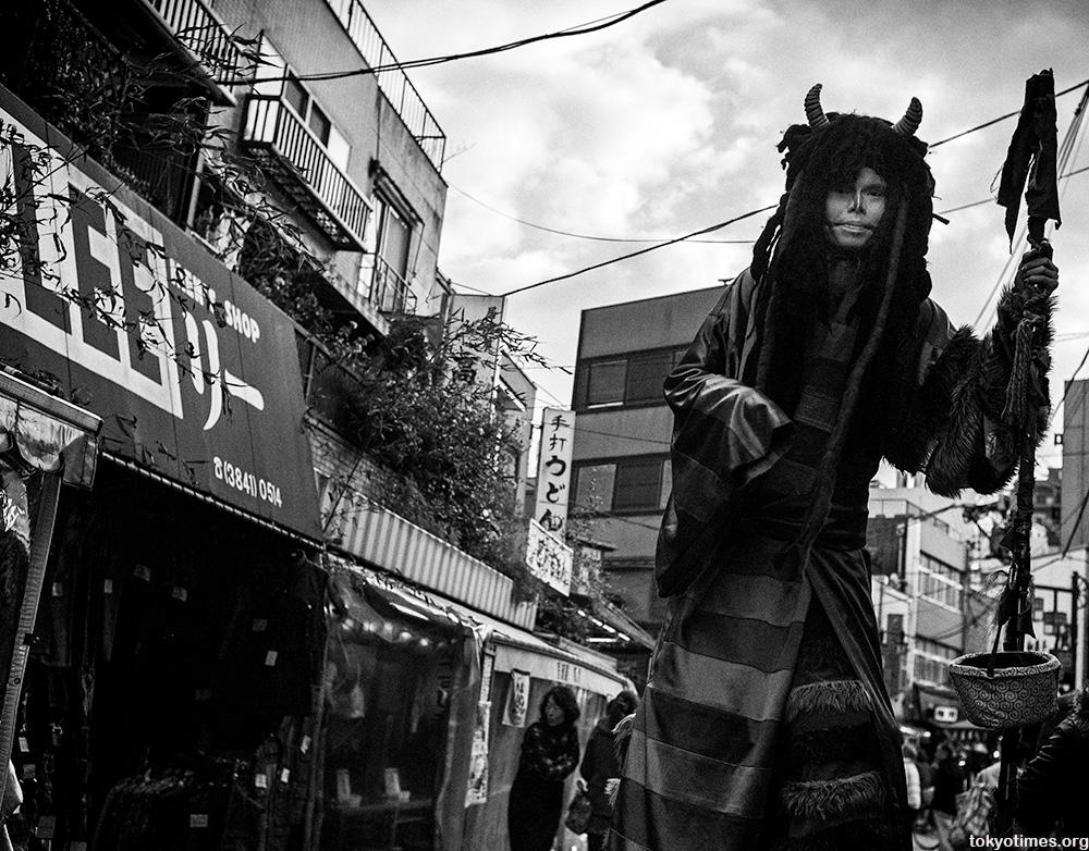 giant Tokyo demon
