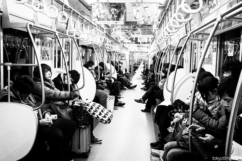 Tokyo never ending train journeys