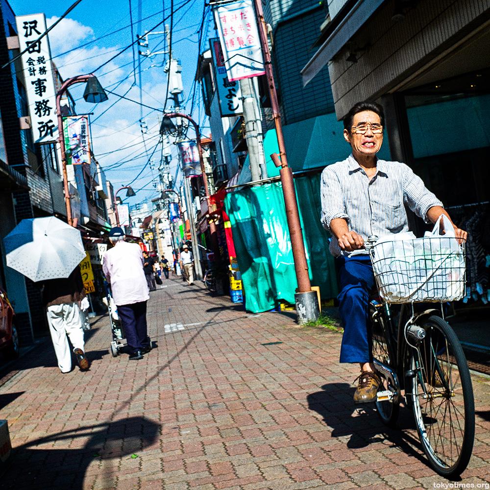 Japanese October heat wave