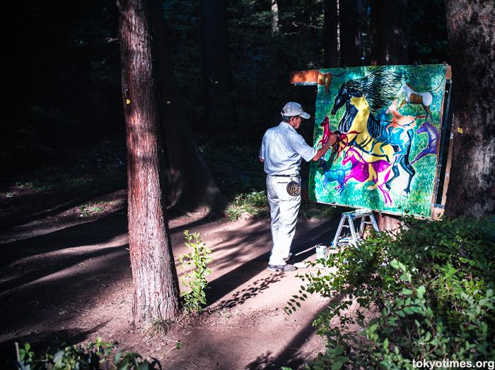 Tokyo painter