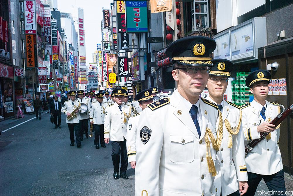 Tokyo police band