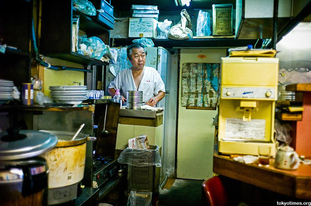 old Tokyo ramen restaurant