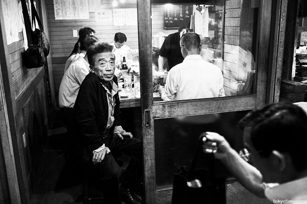 Tokyo salaryman drinkers