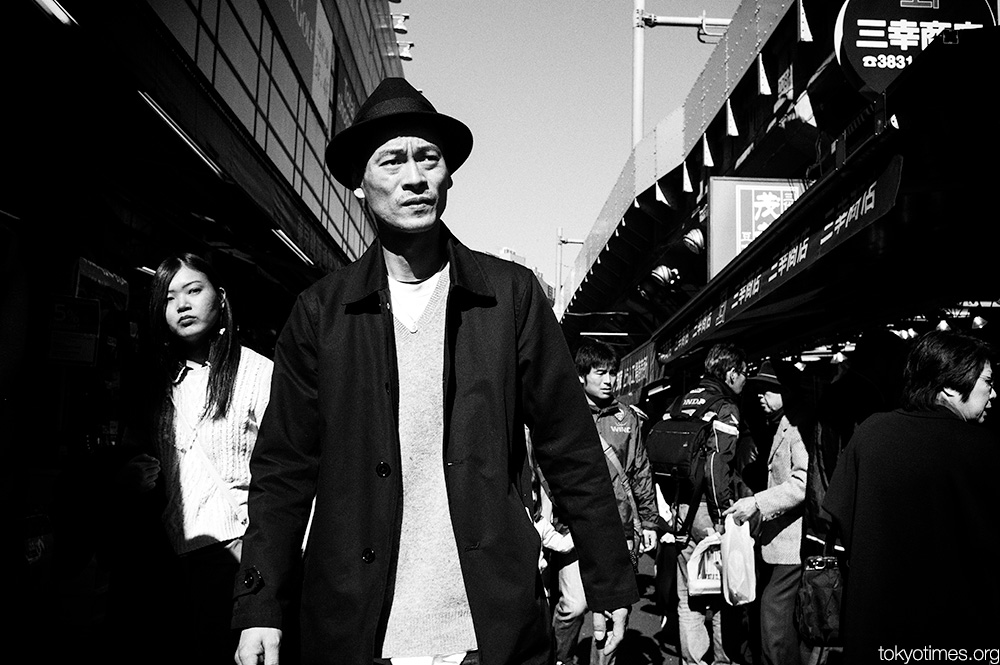 Tokyo shadows and stares