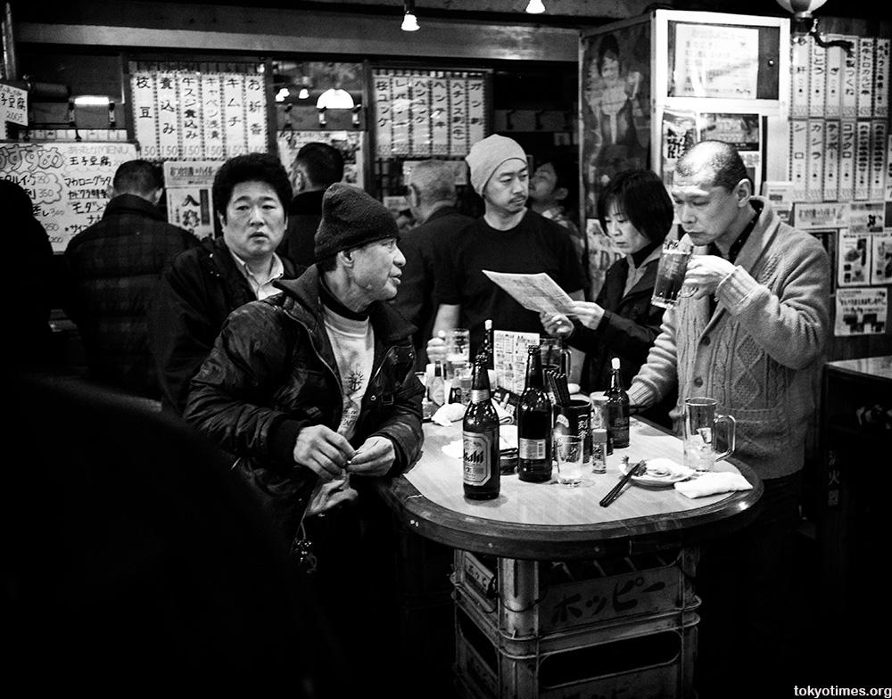 Tokyo standing bar