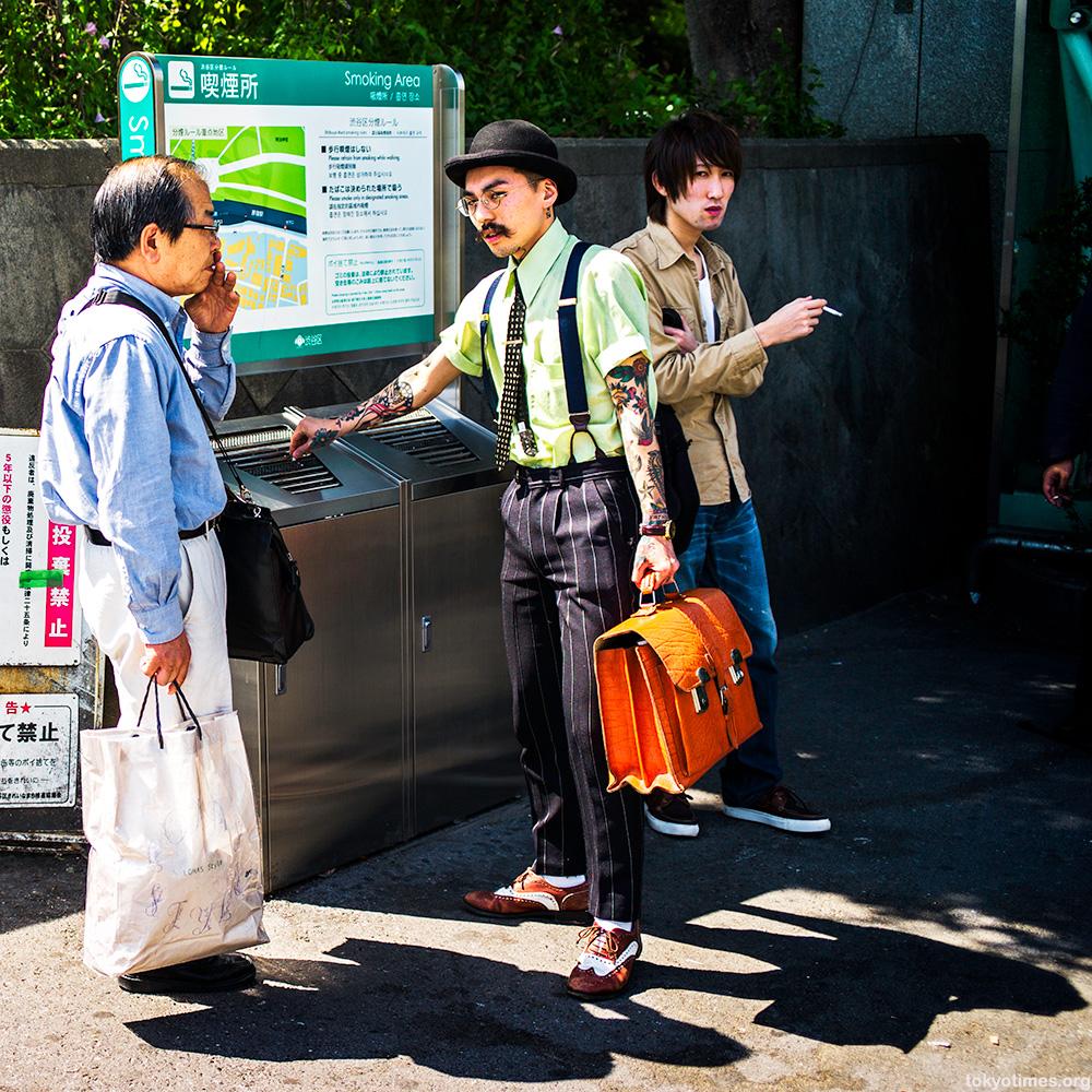Tokyo tattoo fashion