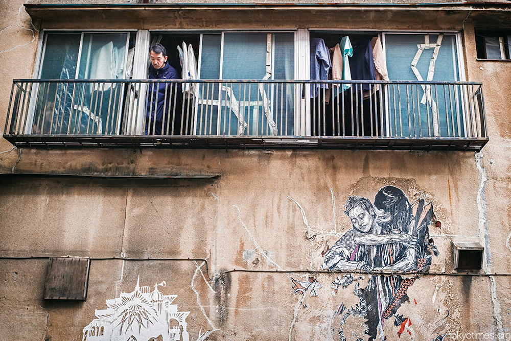 Tokyo urban art love
