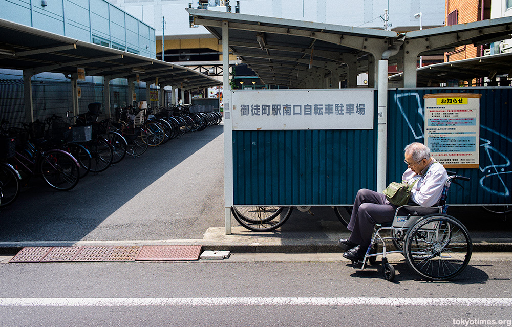 Tokyo wheelchair