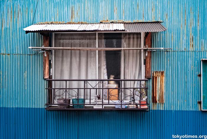 Corrugated iron Japan