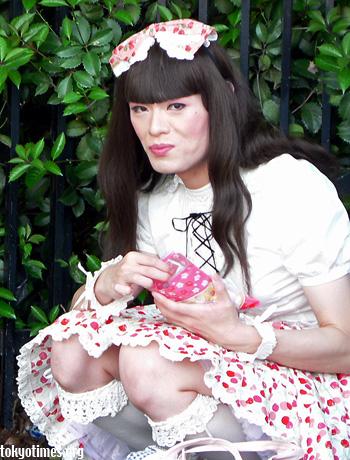 Japanese transvestite