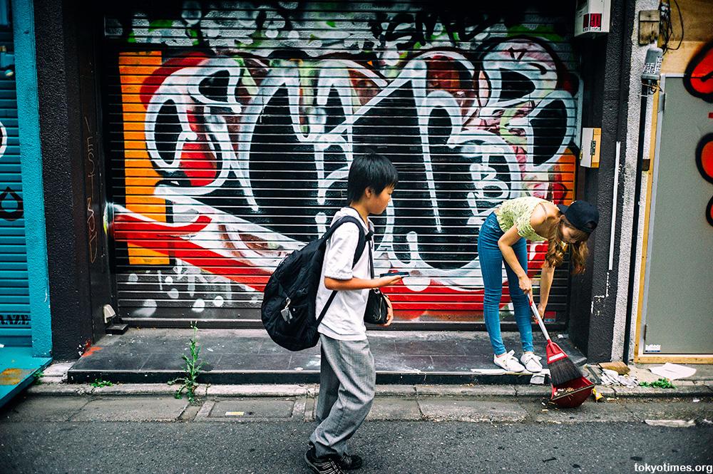 graffiti in Tokyo