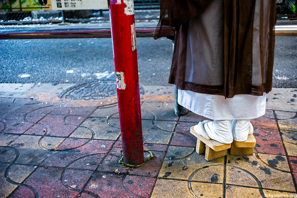traditional geta shoes in Tokyo