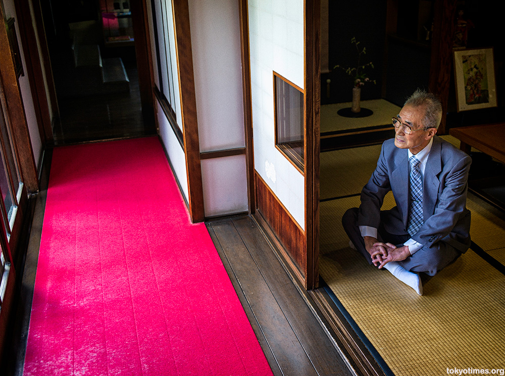 Japanese traditional contemplation
