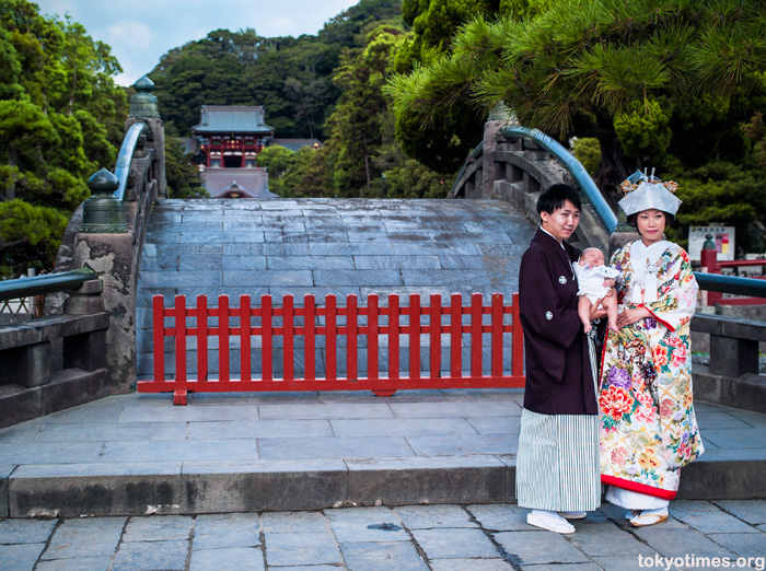 traditional Japanese wedding in Kamakura