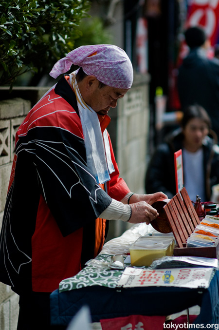 traditional Japanese treats