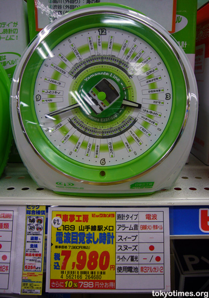 Japanese train clock