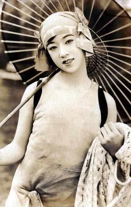 bygone Japanese babe