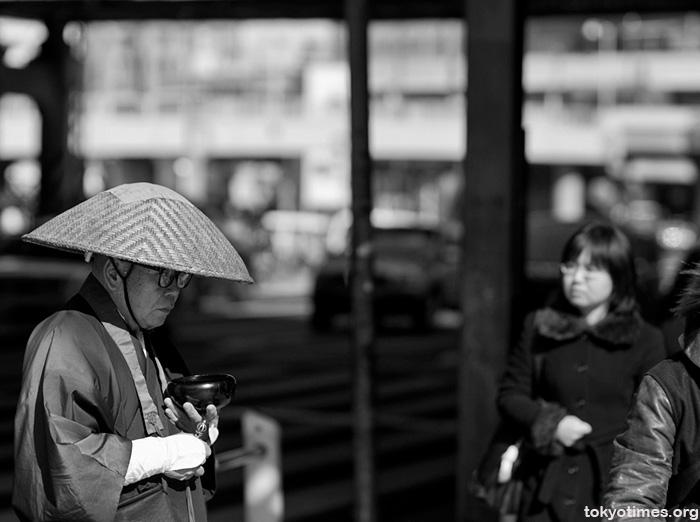 Tokyo Buddhist monk