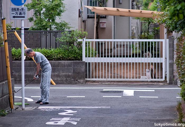 Tokyo urban golf