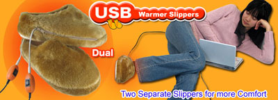 usb slippers
