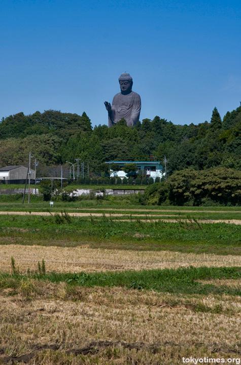 Ushiku Daibutsu (big Buddha)