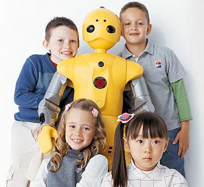 Japanese Wakamaru robot