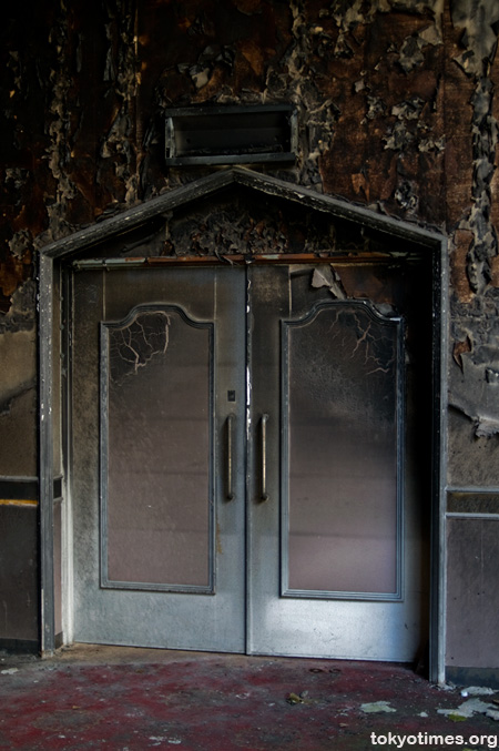 abandoned wedding hall