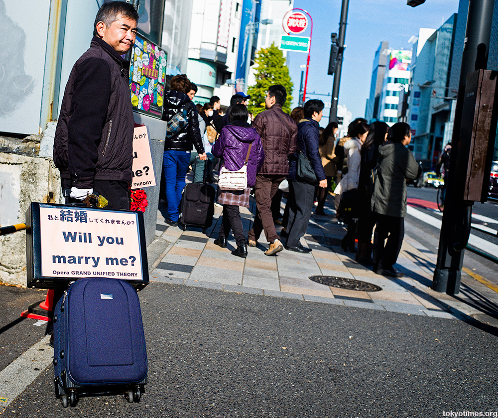 will you marry me in Tokyo