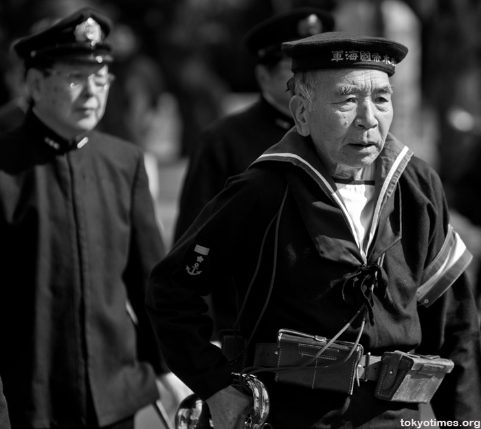 Yasukuni Shrine veterans