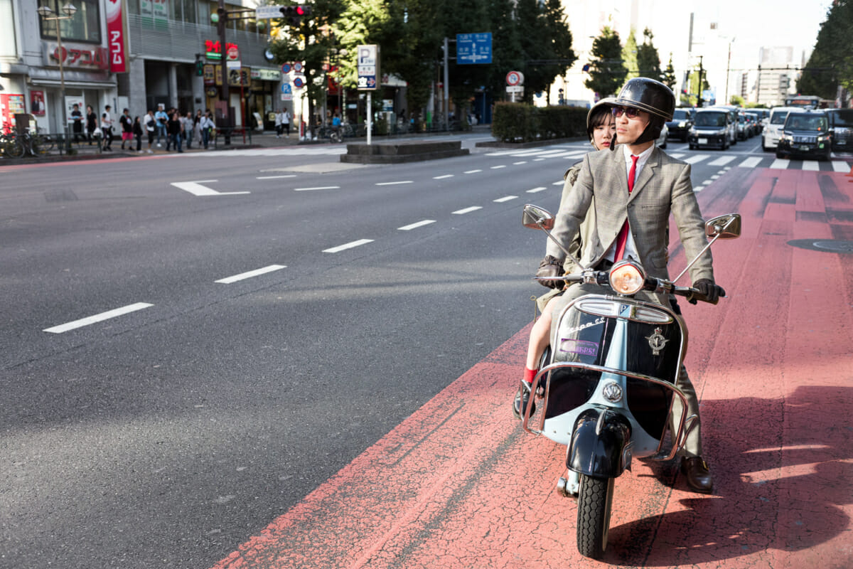 a Japanese mod in tokyo