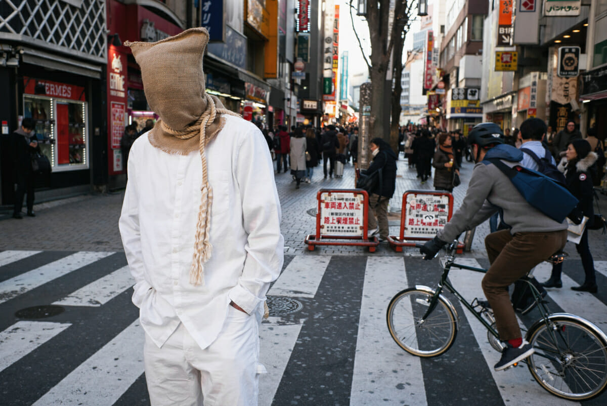 A condemned Japanese man in Tokyo