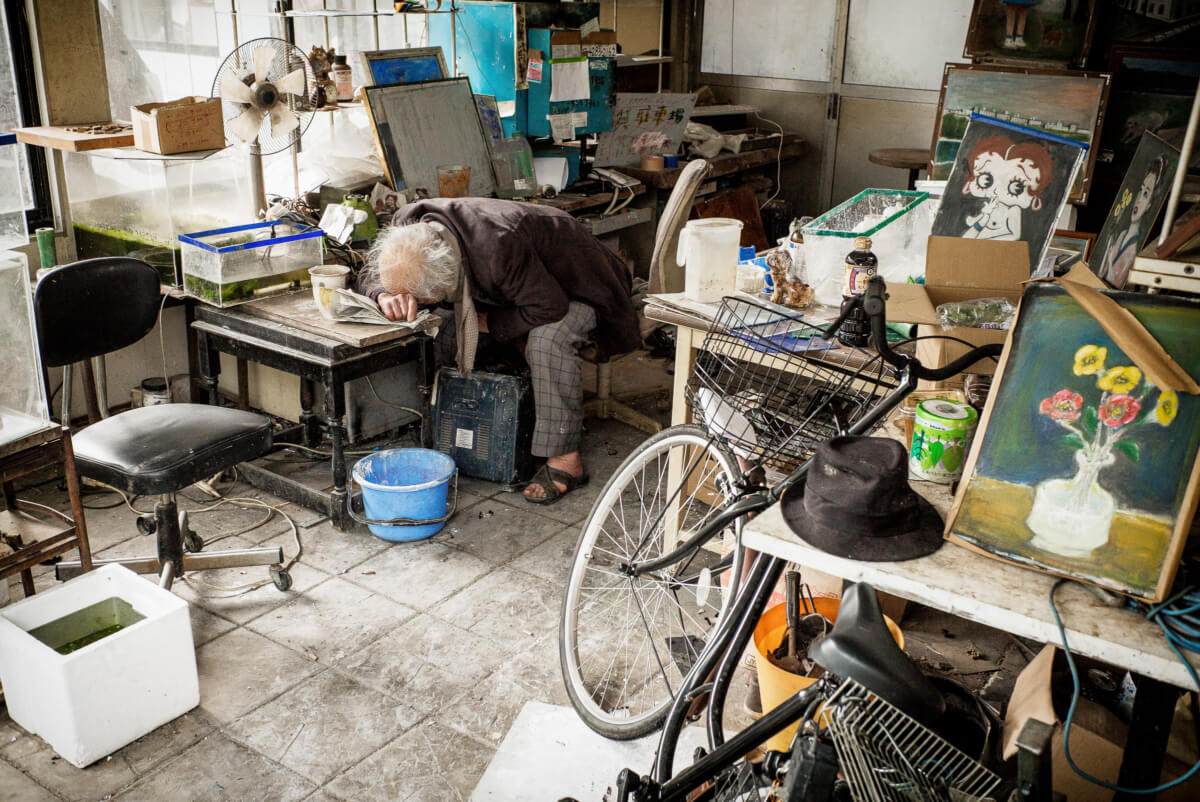 Japan: A portrait of the artist as an old man""
