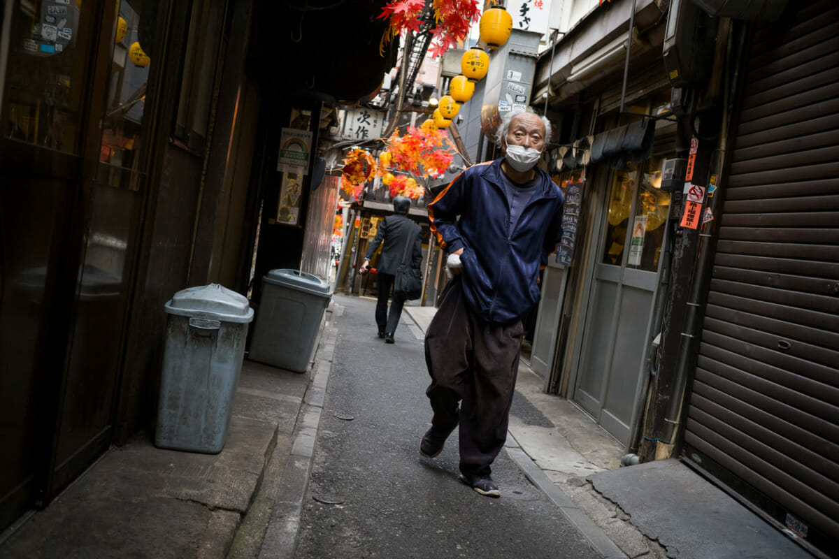 very urban tokyo autumn