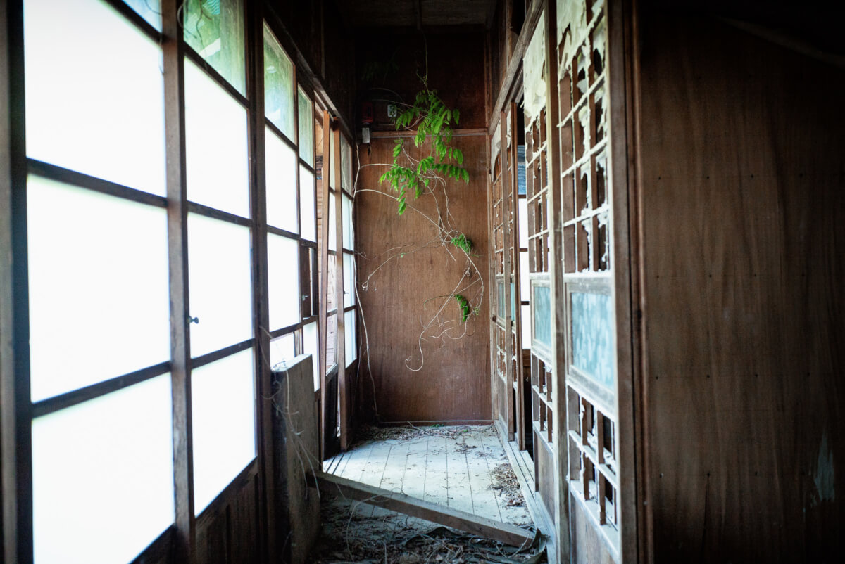 photographs from an abandoned Japanese village