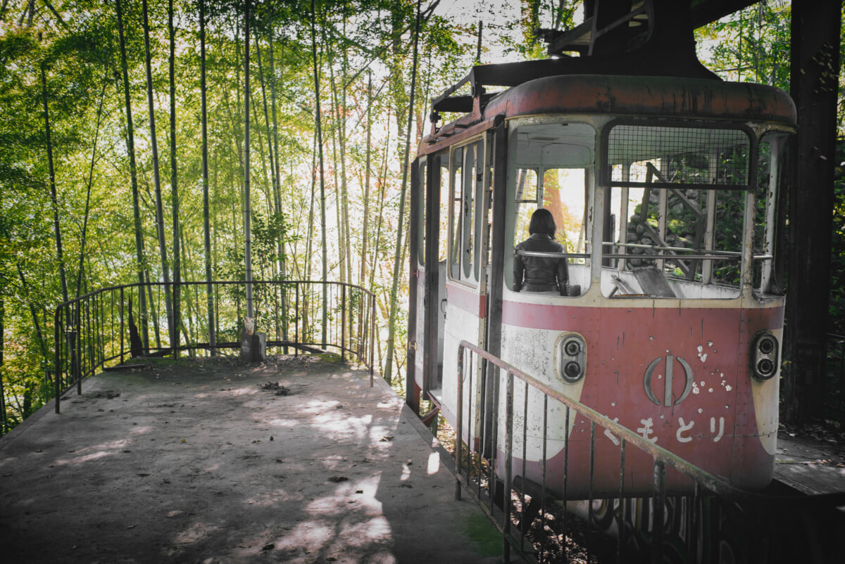 abandoned tokyo cable car