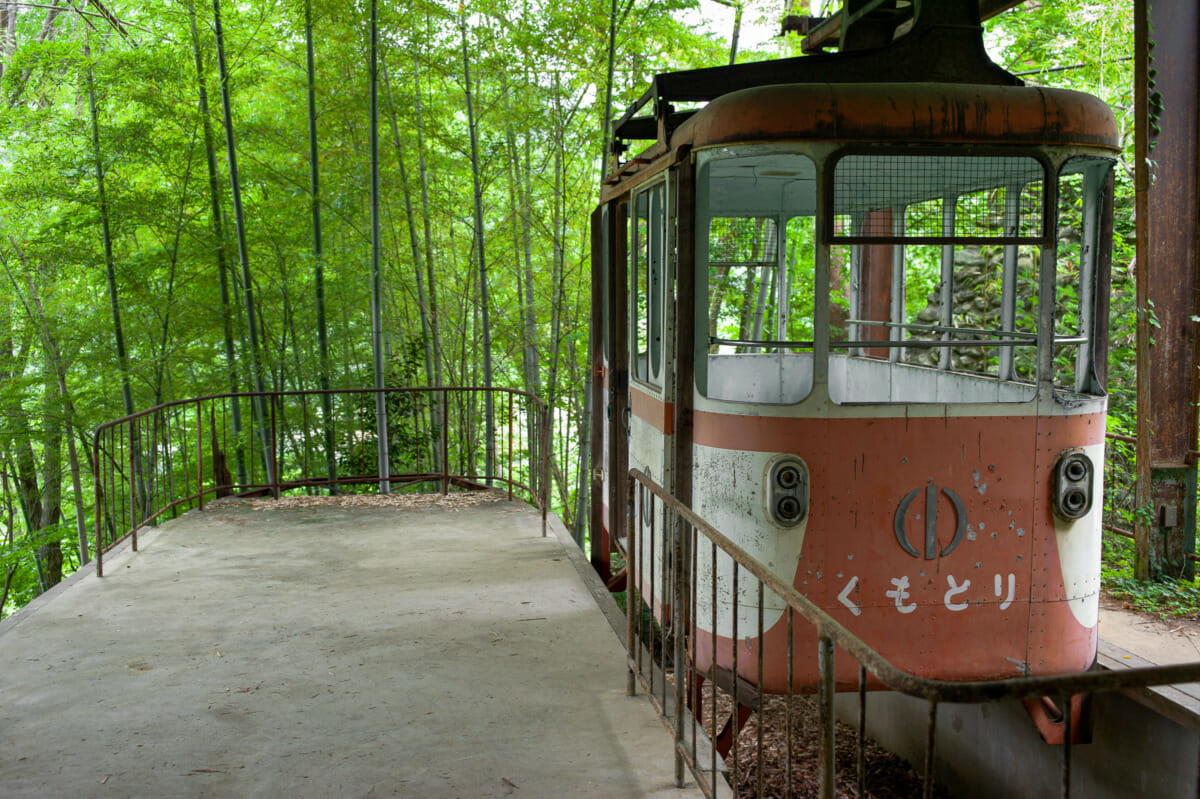 long-abandoned and beautiful tokyo cable cars