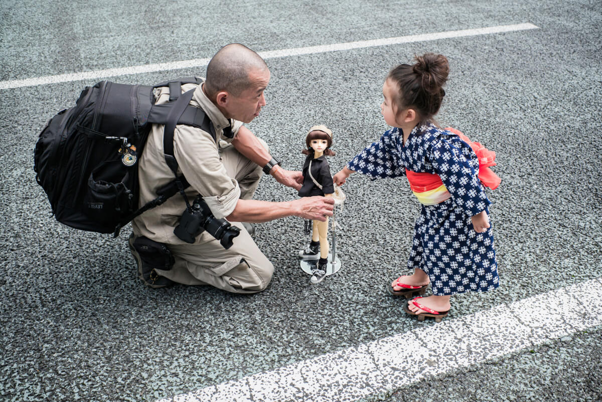 Japanese dolls for big boys and little girls