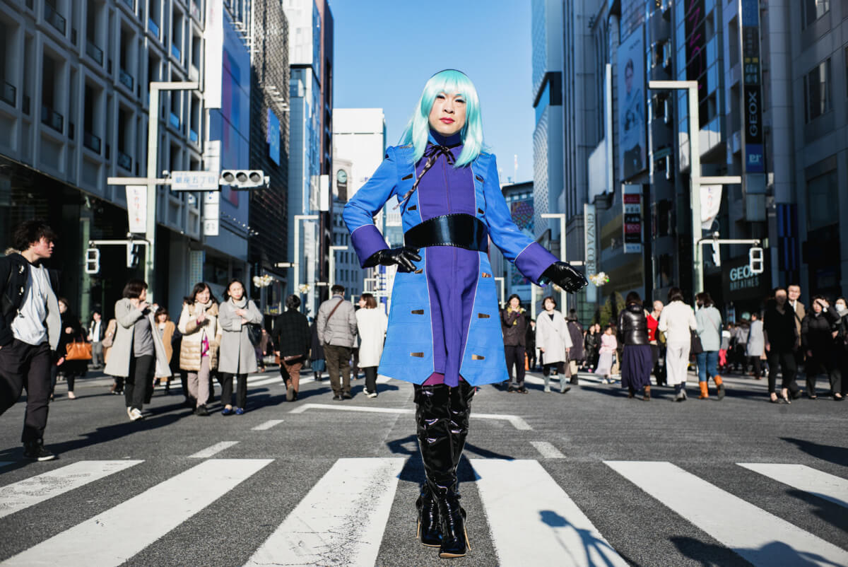 Bold and eye-catching Tokyo cosplay