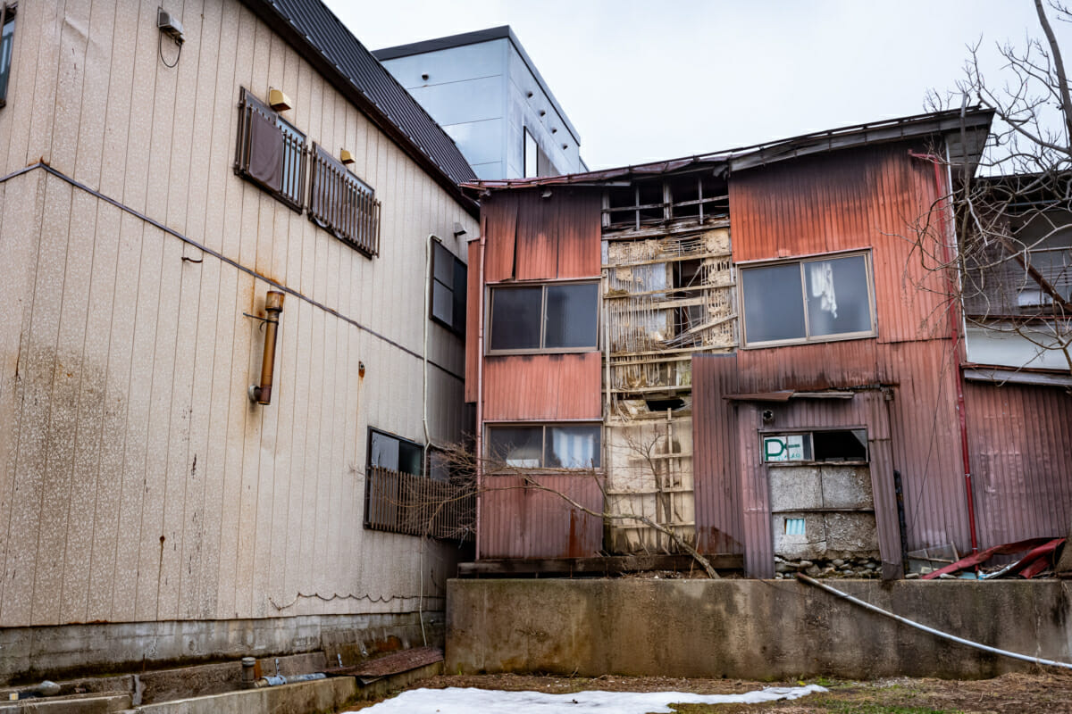 faded and empty rural Japan