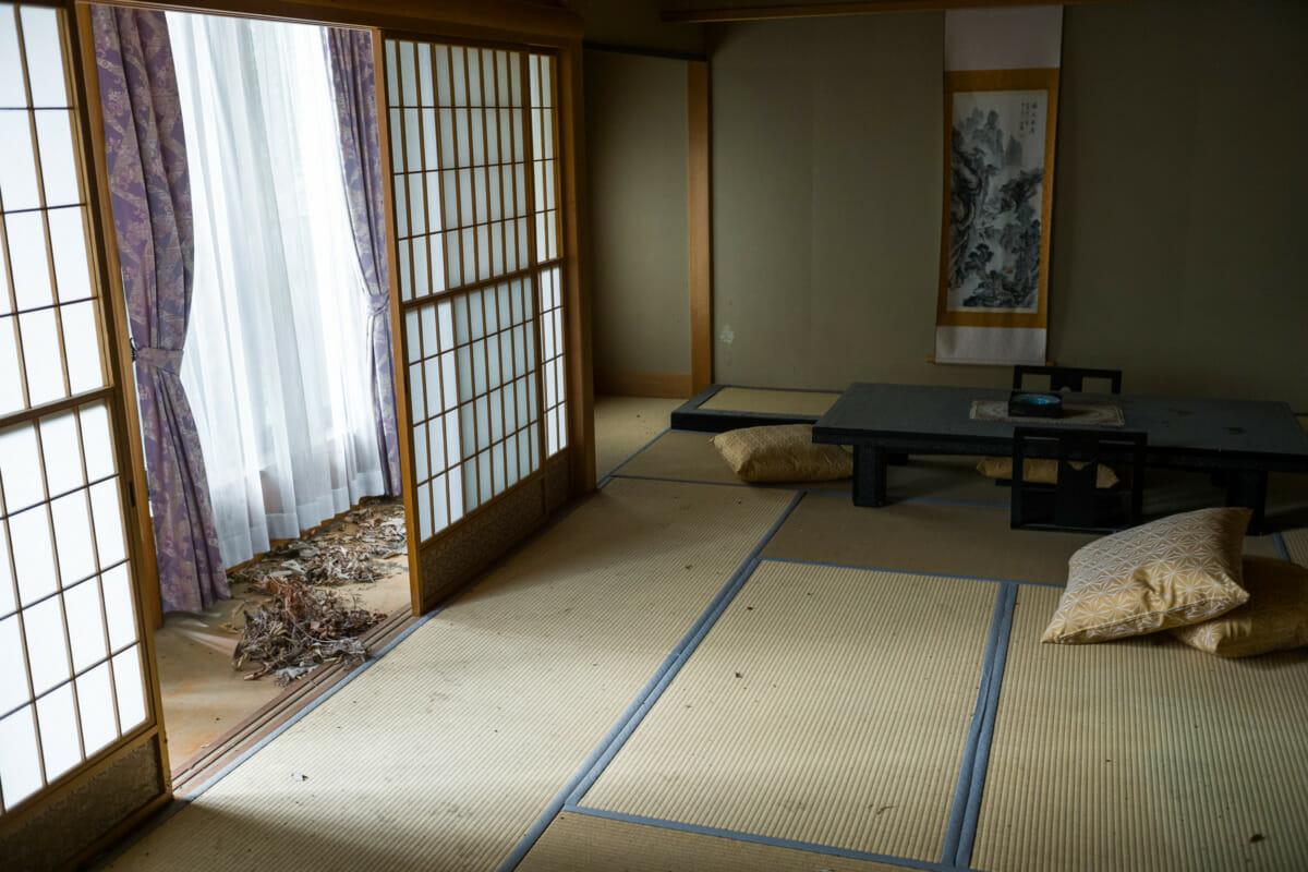 half-abandoned Japanese hot spring resort