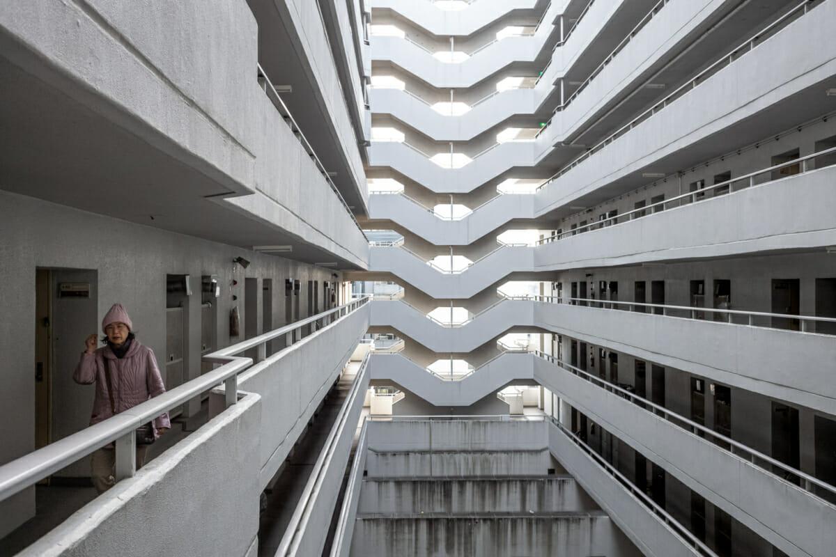 Japanese public housing danchi