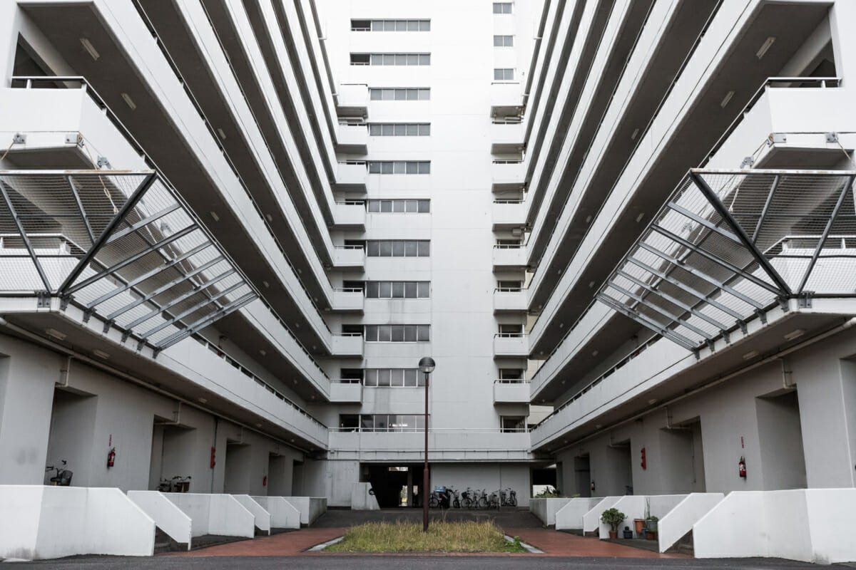 Japanese public housing danchi