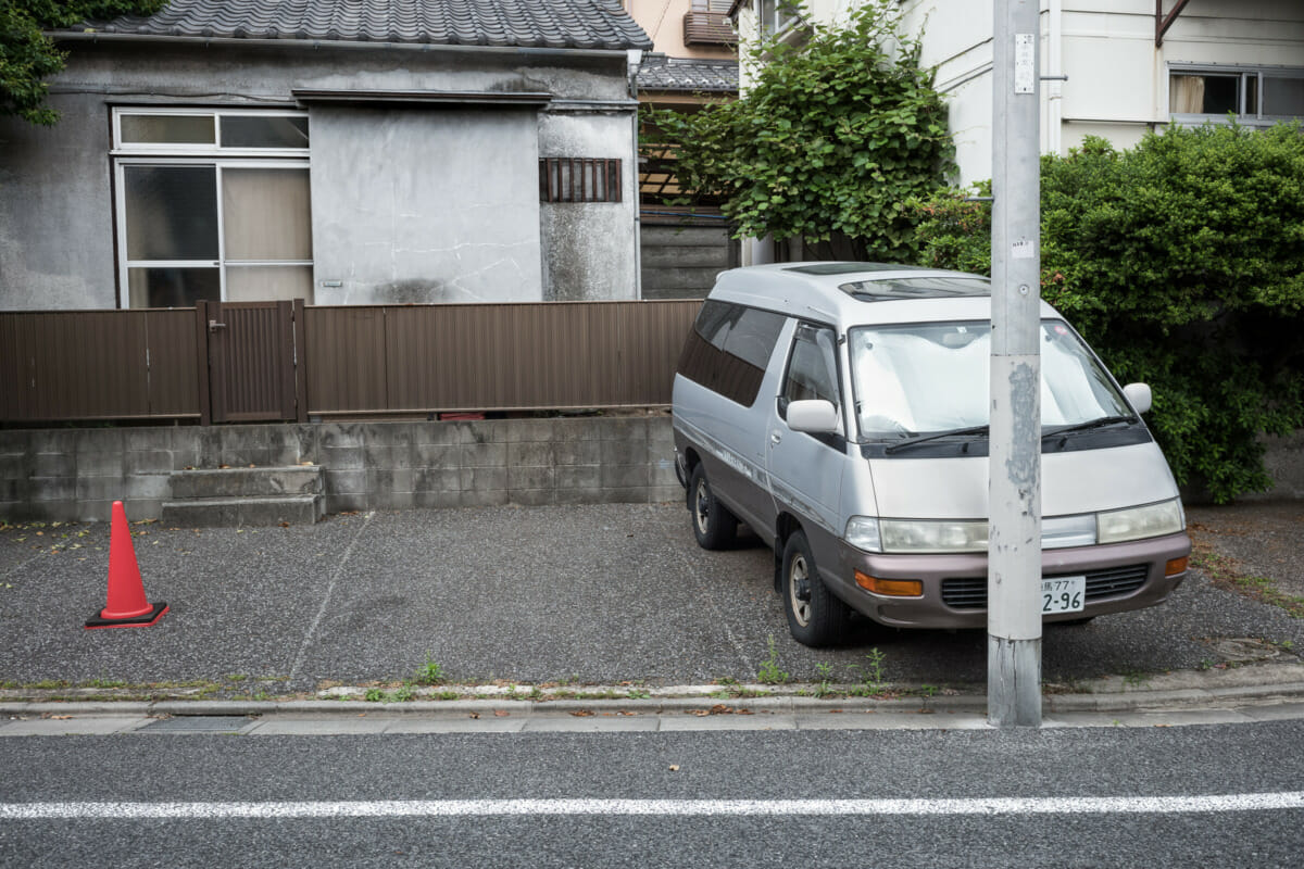 Tokyo's least practical parking space?