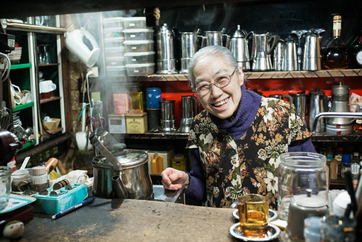 elderly Japanese portrait